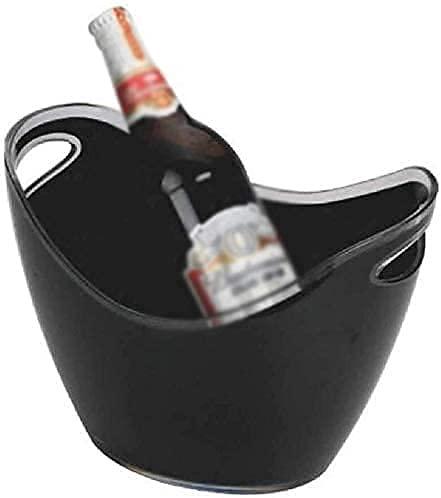 YQG Cubo Enfriador, Enfriador de Botellas de Vino Grande, Cubo de Hielo,...