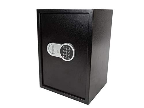 Caja fuerte electrónica con código numérico, 2 compartime