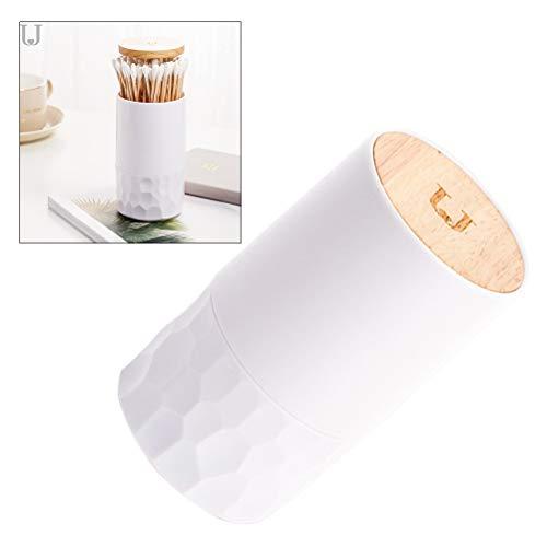 Yardwe Automatischer Pop-Up-Zahnstocher-Halter-Spender Wattestäbchenhalter für Badezimmer Zahnstocherhalter Dispenser