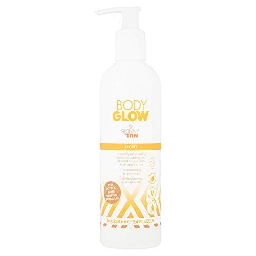 Skinny Tan Body Glow de Skinny Tan light, 280 ml