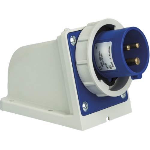 SIROX® CEE-Wandgerätestecker IP 67, 3-polig, 230 V, 6 h 16 A
