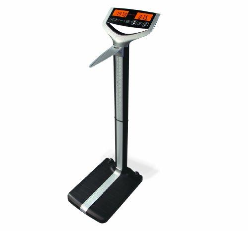 Accuro DB100 Eye Level Digital Medical Scale, 500 lb./227kg Capacity, Calculates BMI