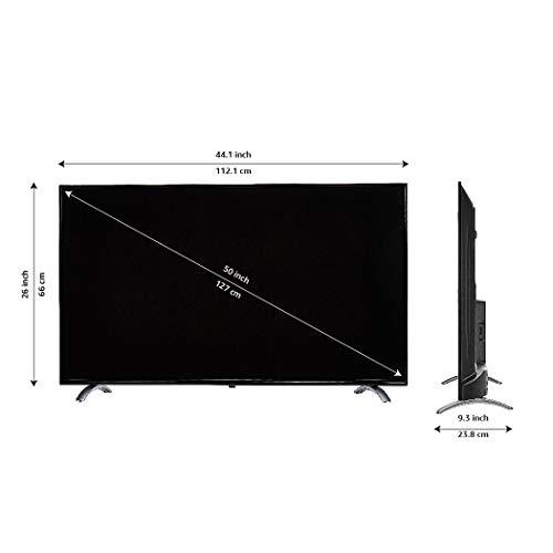 AmazonBasics 127cm (50 inch) 4K Ultra HD Smart LED Fire TV AB50U20PS (Black) 5