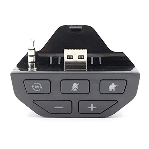 Sunydog Adaptador de Auriculares estéreo Adaptador de Audio para Auriculares Convertidor de Auriculares Compatible con el Controlador de Juegos inalámbrico Microsoft Xbox One