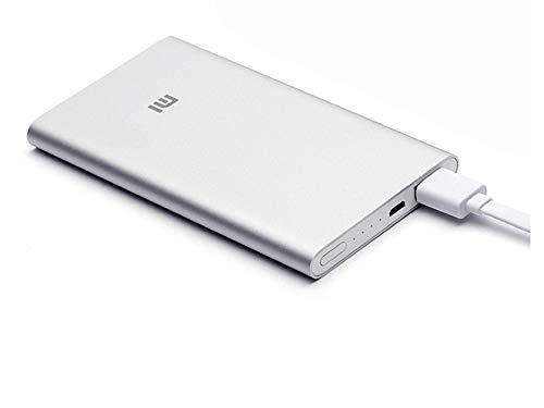 Xiaomi 17961 –Mi Power Bank 2, 5000 mAh, Silber
