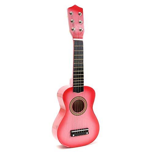 ZFZFZF Práctica ukelele guitarra popular niños instrumentos musicales música educación temprana música guitarra regalo ukelele 105/5000 China Pink
