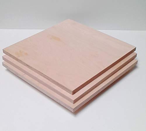 Tableros contrachapados de madera de 21 mm de grosor. Tamaño: 500 x 900 mm. Tamaño deseado.