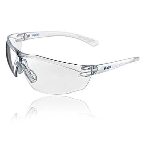 Dräger X-pect 8320 Gafas de Seguridad   Lentes de protección Rayos UV antivaho  Ultraligeras para un Uso intensivo   para Industria, Deporte, Laboratorio ✅