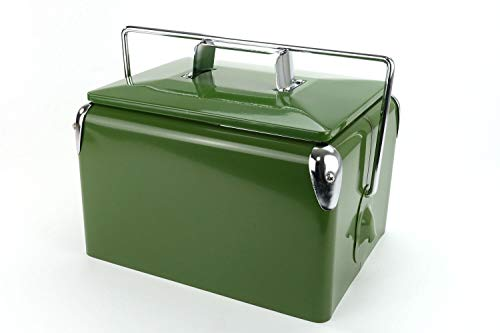 Retro-koelbox Daytona 7 Olive | Artikelnummer: 1021014