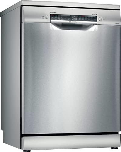 Bosch 14 Place Settings free-standing Dishwasher (SMS6HVI00I, Fingerprint free steel)