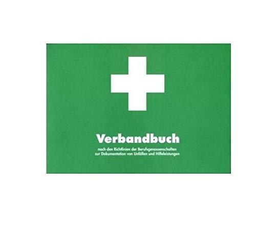 Verbandsbuch Verbandbuch BG Erste Hilfe Dokumentation A5 grün von MBS-FIRE®