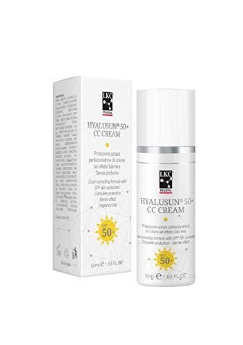 Hyalusun® CC Cream SPF 50+, Protezione Solare - 50 ml LKC Pharma