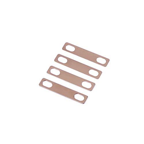 Alnicov 4 piezas de cuñas de cuello de guitarra 0,2 mm 0,5...