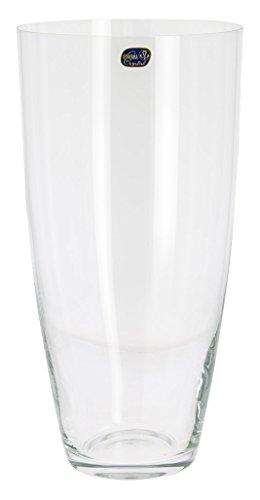 Bohemia Crystal Vase glatt, Glas, transparent, 15x 15x 30cm