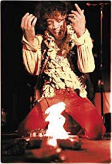 Ultimate Poster Poster Jimi Hendrix Monterey pop Festival 1967 Guitar fire 12x18 inch Rolled