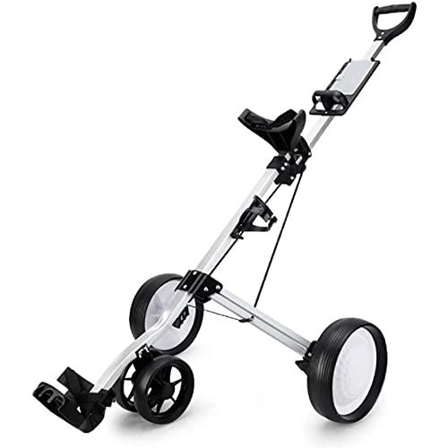SUYUDD Carrito De Golf Triciclo De Golf Coche De Alquiler Carrito De Bolas Plegable Trolley Suministros De Cancha Carrito De...