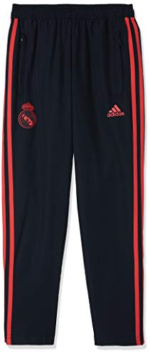 adidas Kinder Madrid EU Woven Pant Trainingshose, Black/Real Coral s18, 152