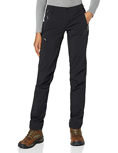 Odlo Damen Pants Long Length WEDGEMOUNT Hose, Black, 38