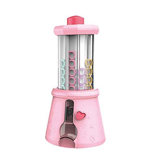 Abilieauty Muchachas DIY pulsera fabricante DIY máquina de hacer punto collar cadena pulsera anillo fabricante de cuentas juego de juguete para niña niño