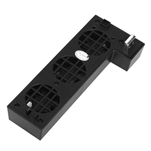 Externe 3-Fan Turbo USB Temperaturregelung Kühlung externen 3-Fan Fan für Xbox One X Console Gaming Spielen Cooler Fan