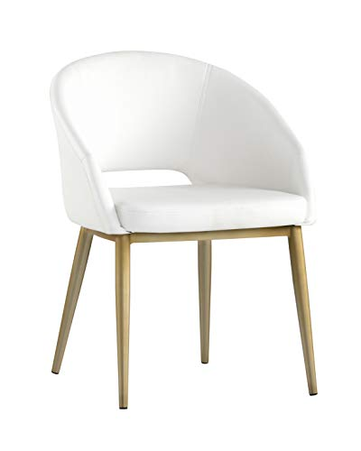 Sunpan Urban Unity Dining Chairs Snow