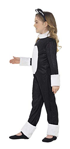 Smiffys Costume Gatto Fico, comprende Tuta, Coda e Copricapo