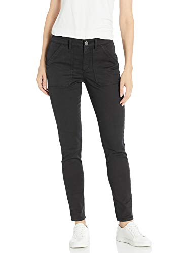Daily Ritual Stretch Cotton/Lyocell work-utility-pants, Black, US 16 (EU XL-2XL)