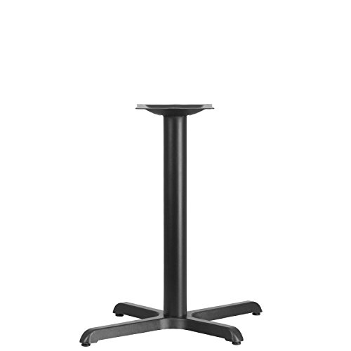 Flash Furniture 23.5'' x 29.5'' Restaurant Table X-Base with 3'' Dia. Table Height Column