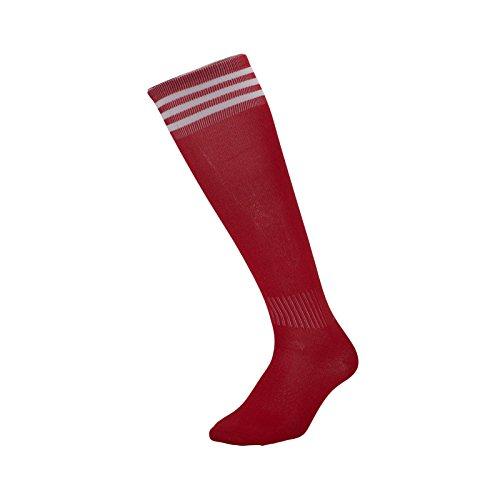zhaoaiqin Voetbal Sokken Lange Sokken Mannen En Vrouwen Volwassen Kinderen Leggings Sport Sokken Dunne Knieën, Volwassenen (Rood)