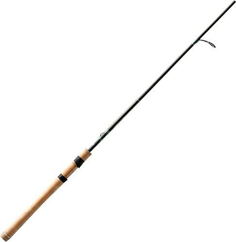 13 Fishing Omen Green 2 ML Spinning Rod, 7.7', Green