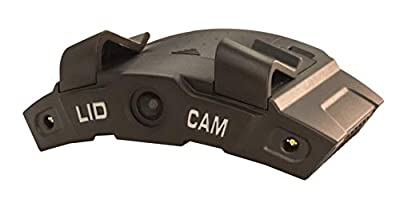 LiDCAM Plus LC-WF-BZ Hands Free Hat Mounted Digital Action Camera, 1080P HD Wi-Fi with Full Audio and 1X to 4X Zoom, Black by LiDCAM