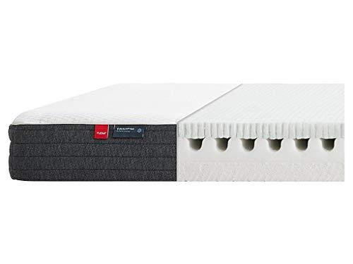 FLEXA GOOD SLEEP Wende-Matratze Schaumstoff - Latex 90x200cm mit Eukalyptusfaser Bezug 83-10427