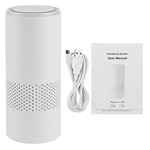 360‑la licenciatura Aire Purificador, Negativo Ion Limpieza Eliminar Olor Fluir Igualmente Repartido Coche Aire Ambientador Abdominales y Compuesto por Coche Oficina USB DC5V