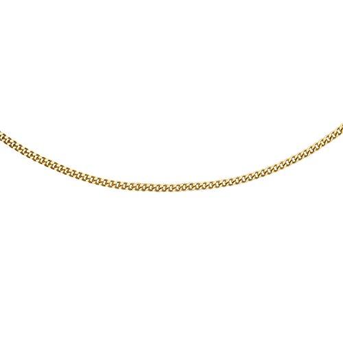 Carissima Gold Damen 9k (375) Gelbgold 0.8mm Diamantschliff Panzerkette 1.13.0035 51cm/20zoll