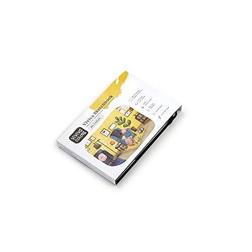 Viviva, 100% Cotton Sketchbook, A6