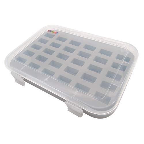 CKPSMS Marque - Boîte de rangement de canette en plastique - détient 30 Bobines avec couvercle # BBX-30 1pièce