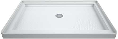 DreamLine SlimLine 32 in. D x 42 in. W x 2 3/4 in. H Center Drain...