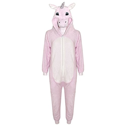 A2Z 4 - Mono para niños y niñas, extra suave, con unicornio todo en uno, para Halloween, para niños de 7 a 8 9 10 11 12 13 14 años