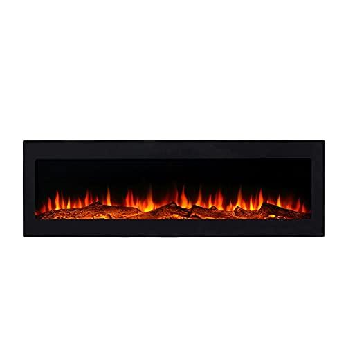 El Fuego Kamin BRIXEN Wandkamin Einbaukamin 180cm