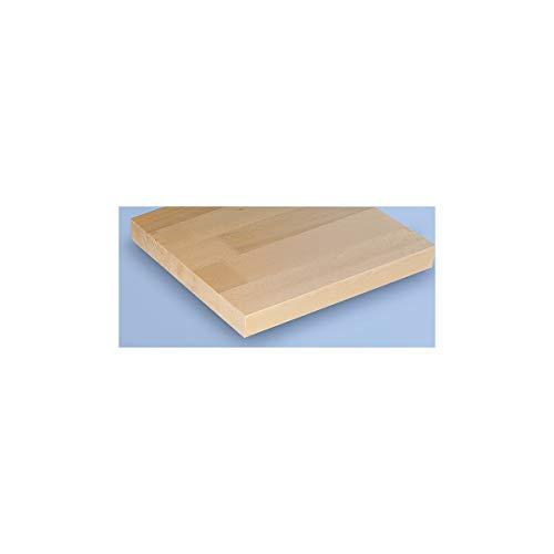 Werkbank kompakt, Buchemassivplatte – Breite 1140 mm, mit Ablageboden – fahrbar – Arbeitsplatz Arbeitstisch Montagetisch Werkbank Werktisch - 3