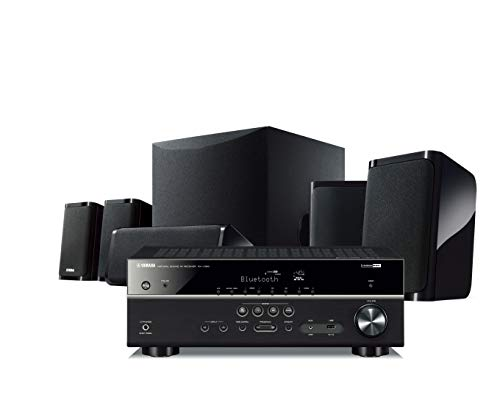 Yamaha Yht4950U 4K Ultra HD 51Channel Home Theater System with Bluetooth