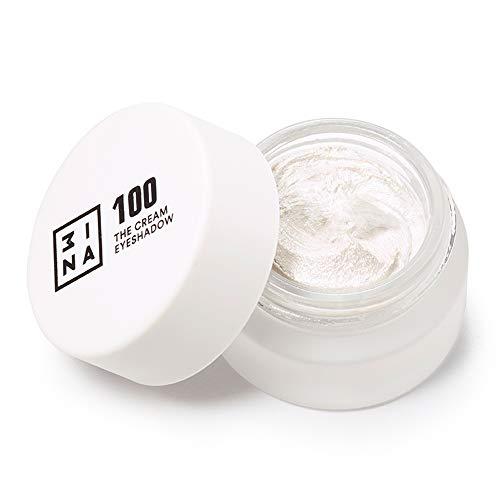 3INA MAKEUP - Vegano - Cruelty Free - The Cream Eyeshadow 100 - Ombretto Crema Glitter -...