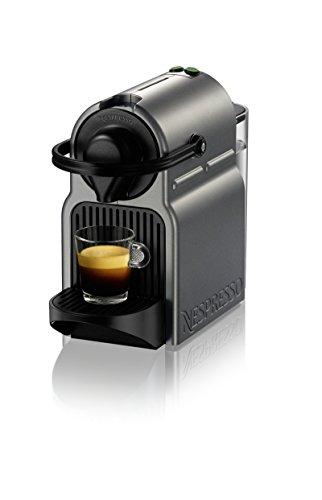 Nespresso BEC120TTN1AUC1 Inissia Coffee and Espresso Machine by Breville, Titan