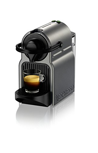 Nespresso BEC120TTN1AUC1 Inissia Coffee and Espresso Machine by Breville, Titan