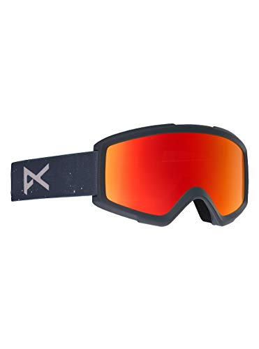 Anon Herren Helix 2.0 with Spare Snowboardbrille, Rush/Red Solex