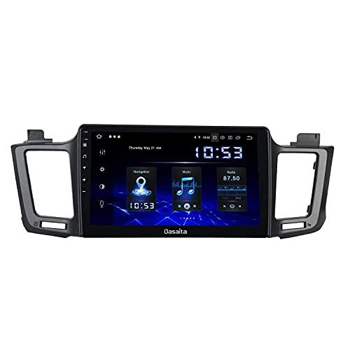 Reproductor multimedia para automóvil 10.2'Android 10.0 Radio Estéreo Carplay para Toyota RAV4 2012 a 2017 Bluetooth Estéreo para automóvil Sat Nav Wifi Puerto USB/AUX Navegación GPS HD 1280 x 720