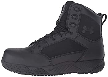 Under Armour mens Stellar Protect Military and Tactical Boot Black  001 Black 10.5 US
