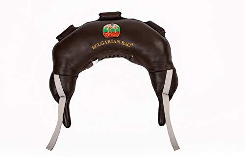 Suples, Bulgarian Bag, modello originale, in vera pelle, tutte le taglie, marrone, XS-5kg