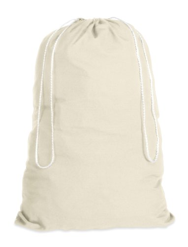 Whitmor 6353-1191 - algodón natural bolsa de lavandería-natural
