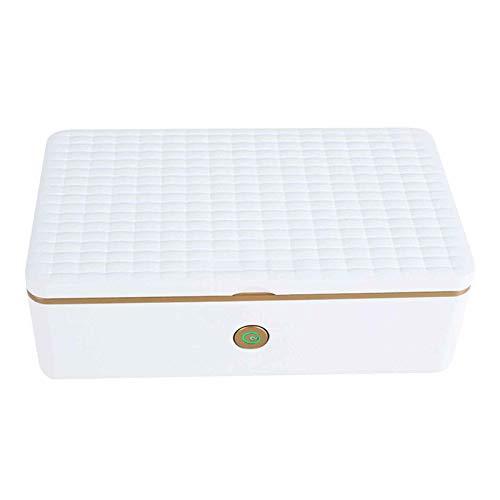 LYYAN Secador de Aire Caliente, Caja de Limpieza UV para uñas, Herramientas domésticas y comerciales, gabinete de Limpieza, máquina de Limpieza automática Recargable por USB